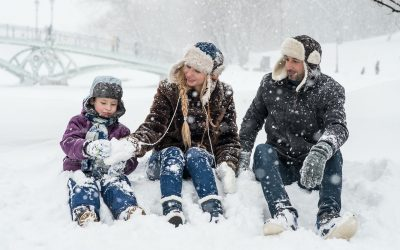 Nurture Family Relationships Through Outdoor Winter Play
